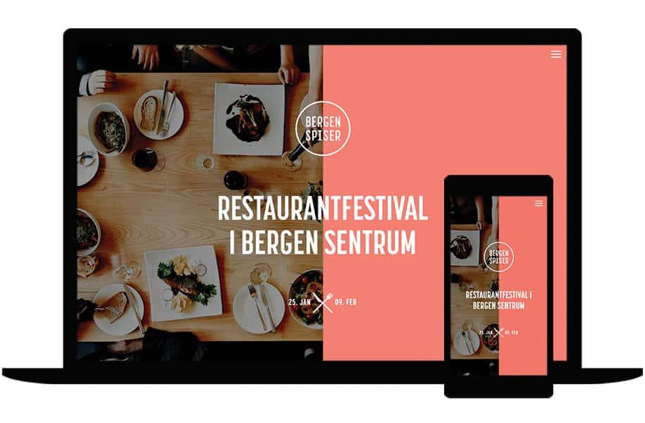 Nettside for Bergen Spiser