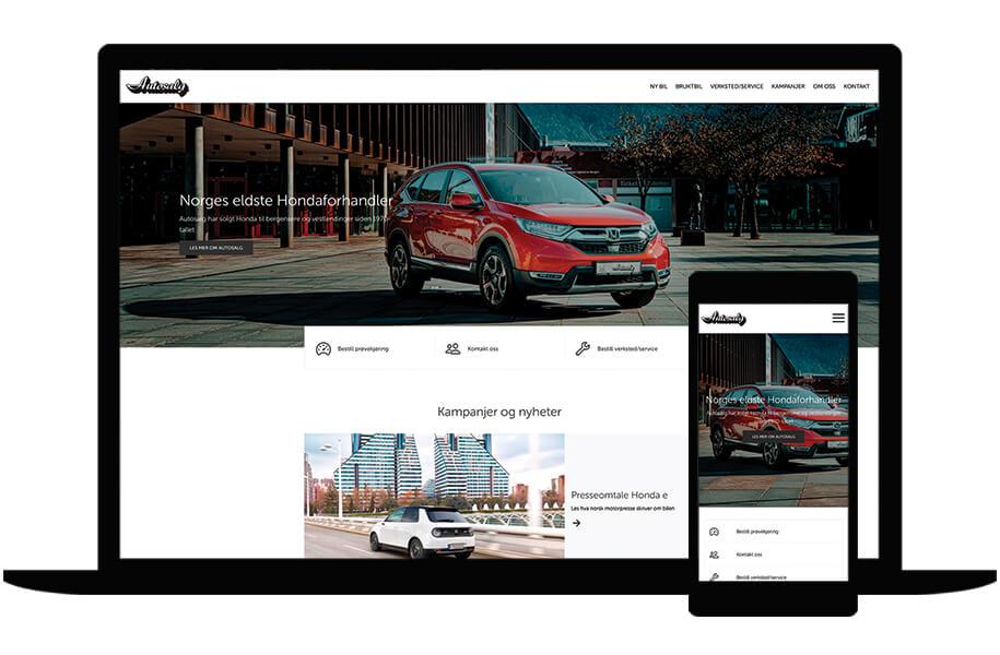 Nettside for Autosalg