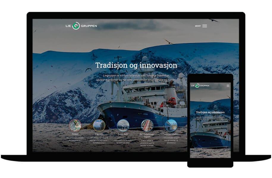 Nettside for Liegruppen