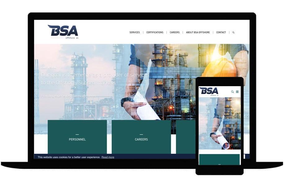Referanse BSA Offshore prosjektet
